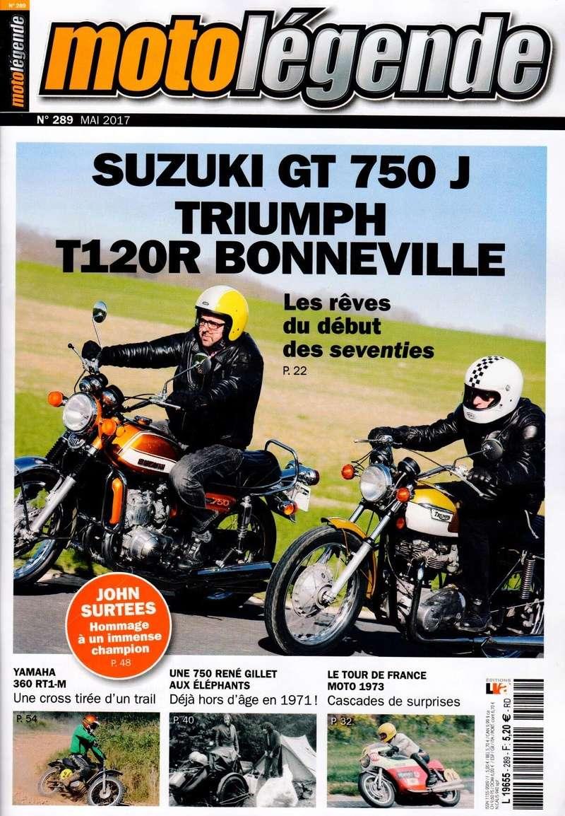 Moto légende:Suz 750 GT  J Ml10