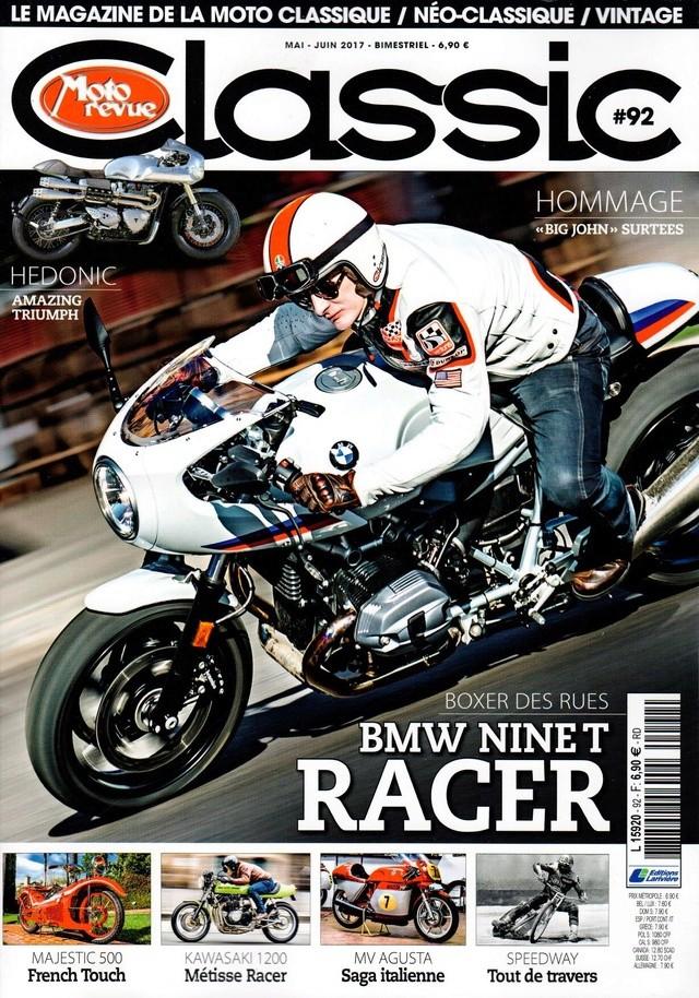 """Moto revue classic:Nine T """"racer"""" Mrc11"""