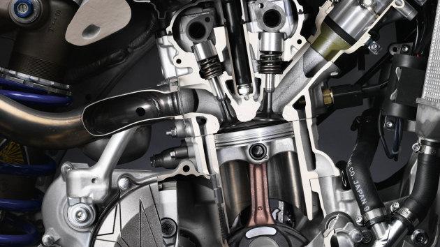 Triumph moteru inversé Yamaha10