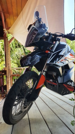 Sabot AXP Racing pour KTM 790 adventure R 20200812