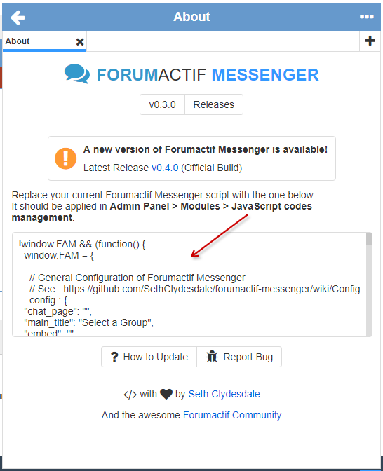 Forumactif Messenger - Instant Message Application for Forumotion Captur50