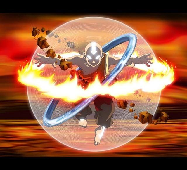 Aang  L'avatar (Avatar, le dernier  maître de l'air)  71961710