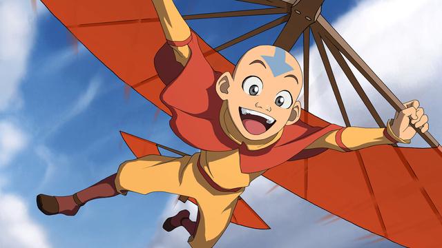 Aang  L'avatar (Avatar, le dernier  maître de l'air)  Dlss3y10