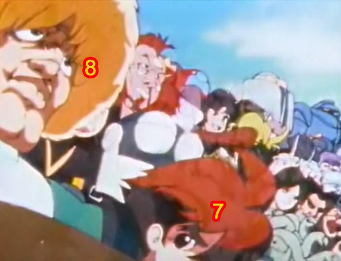 Retrouvez les personnages cachés de Daicon IV Daicon11