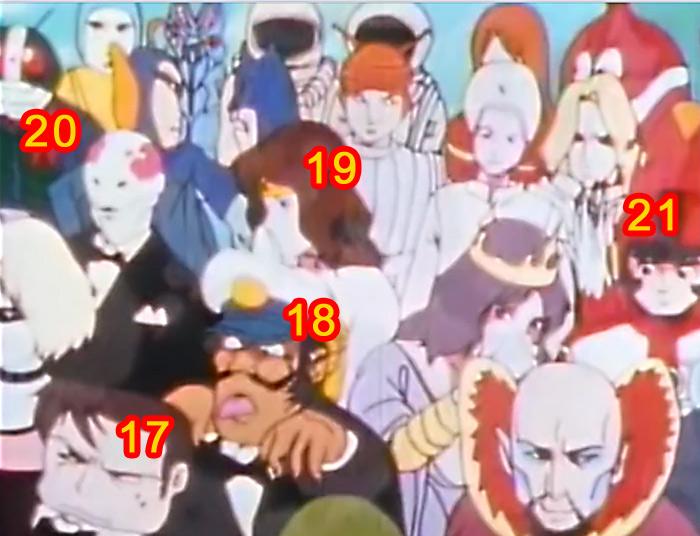 Retrouvez les personnages cachés de Daicon IV Daicon16