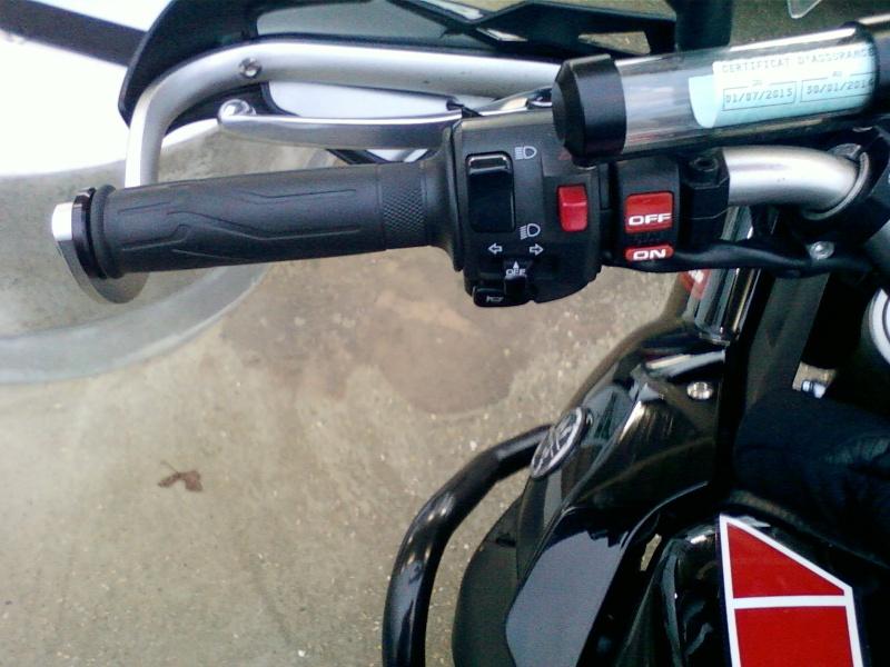 retour aux pneus mixte et mt09 Photo-12