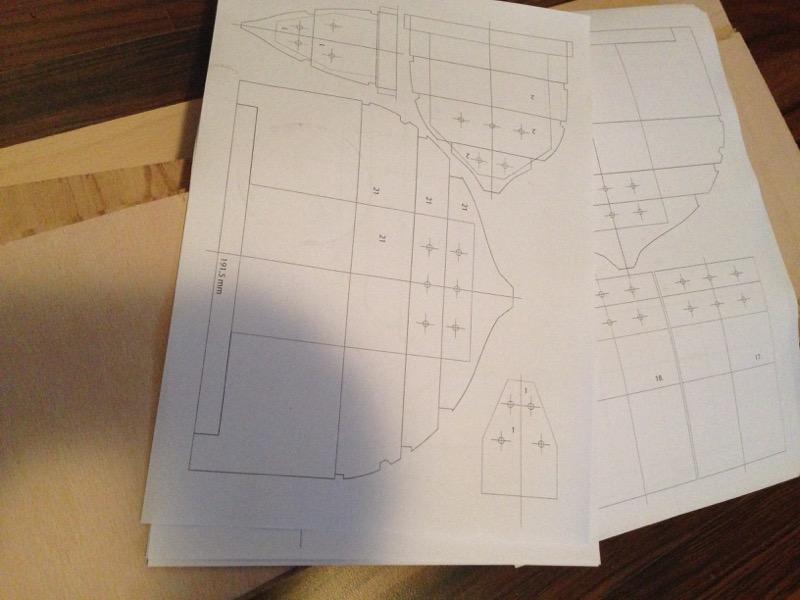 Wikinger-Boot Skuldelev 2 (1:20)  - Seite 8 Materi12