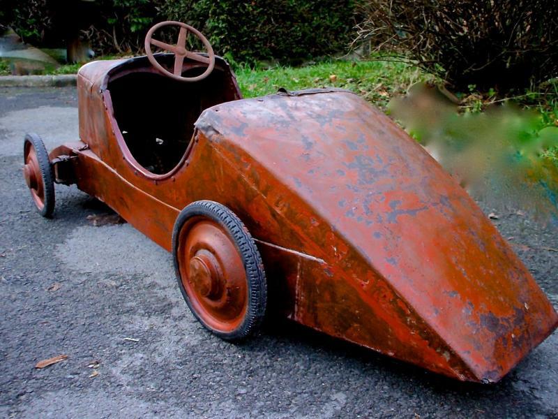 voitures à pédales Rosali10