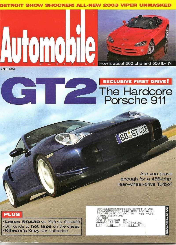 Magazines et articles presse 20010411