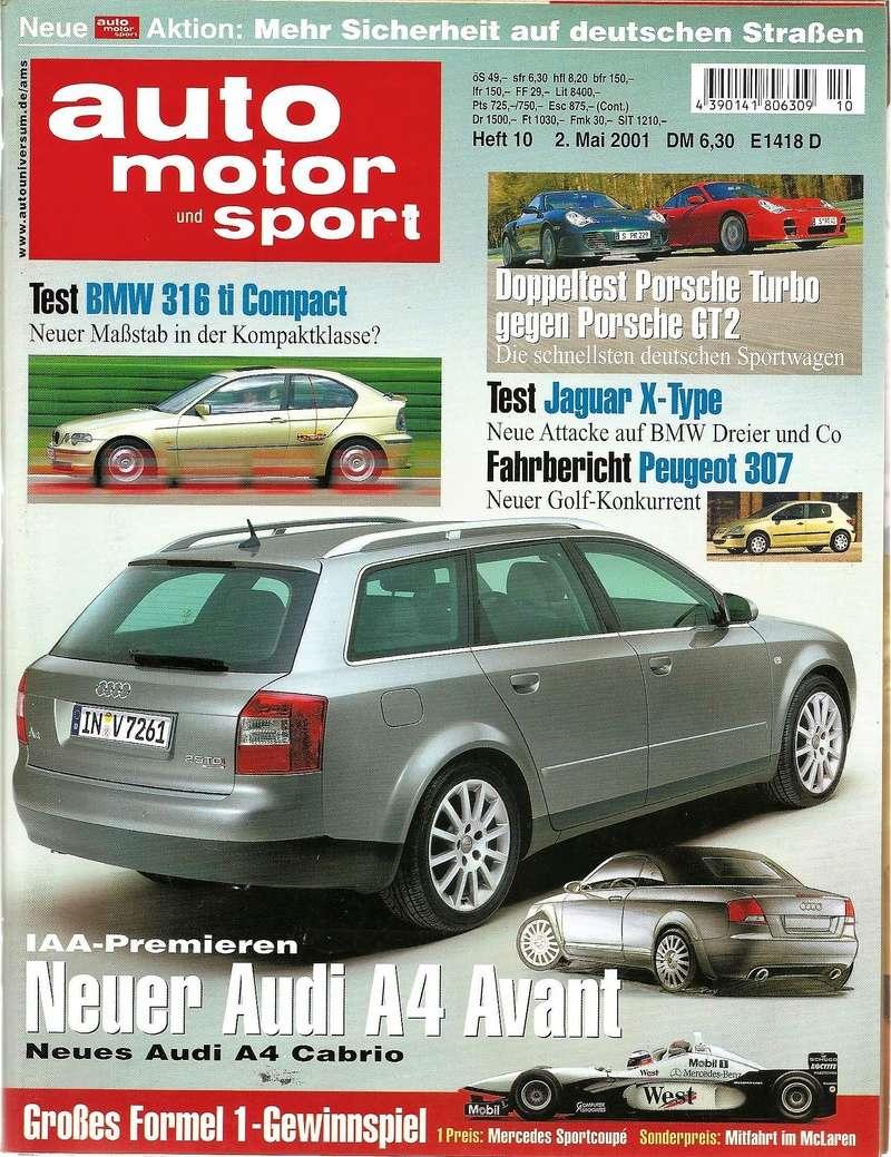 Magazines et articles presse 20010510