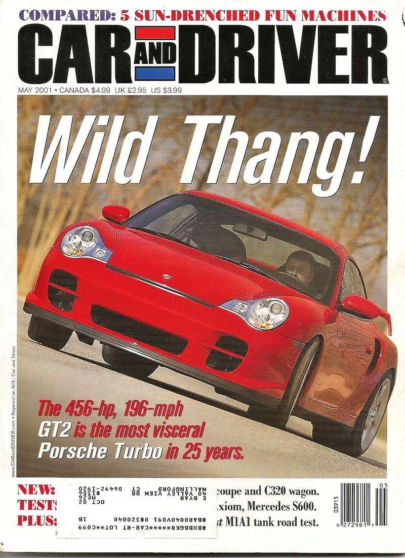 Magazines et articles presse 20010511