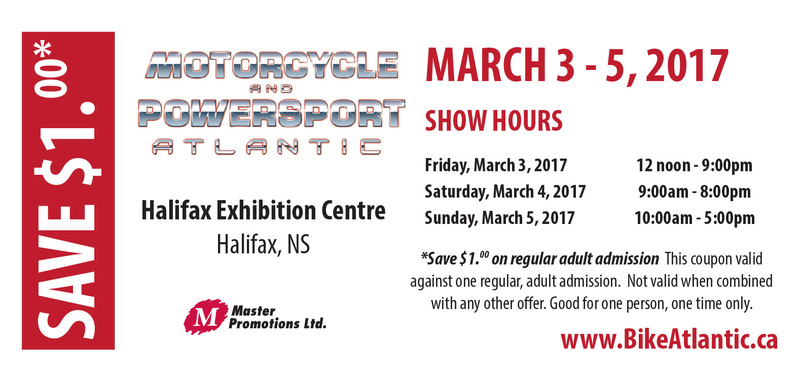 MOTORCYCLE and POWERSPORTS Atlantic show March3,4,5 2017 Motorc10