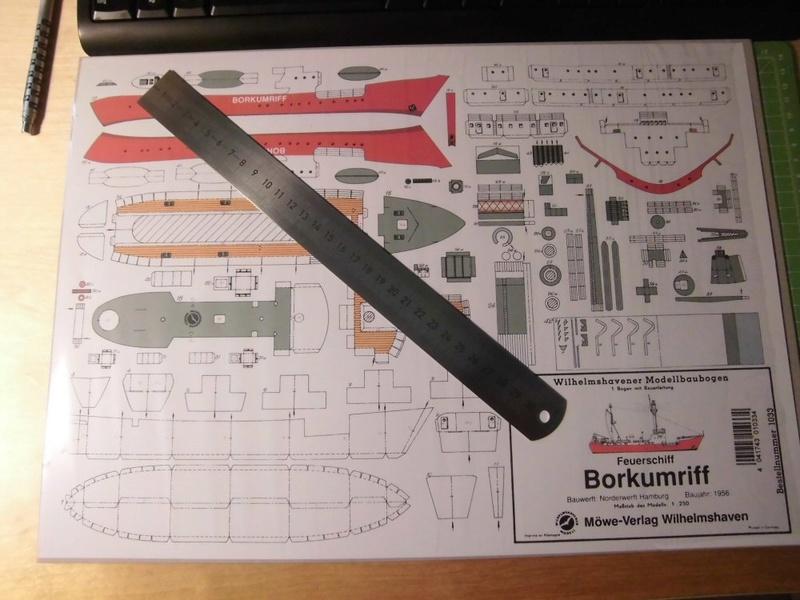 Feuerschiff Borkumriff  1:250  Cimg3226