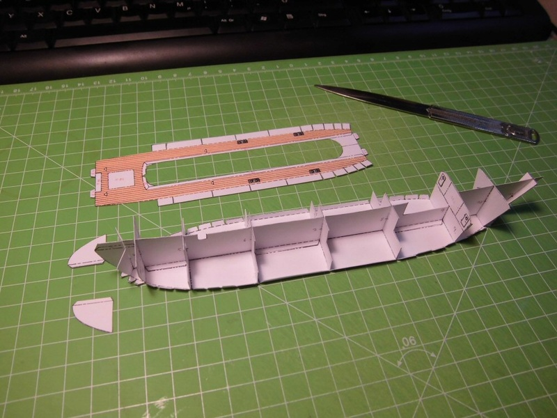 Feuerschiff Borkumriff  1:250  Cimg3231