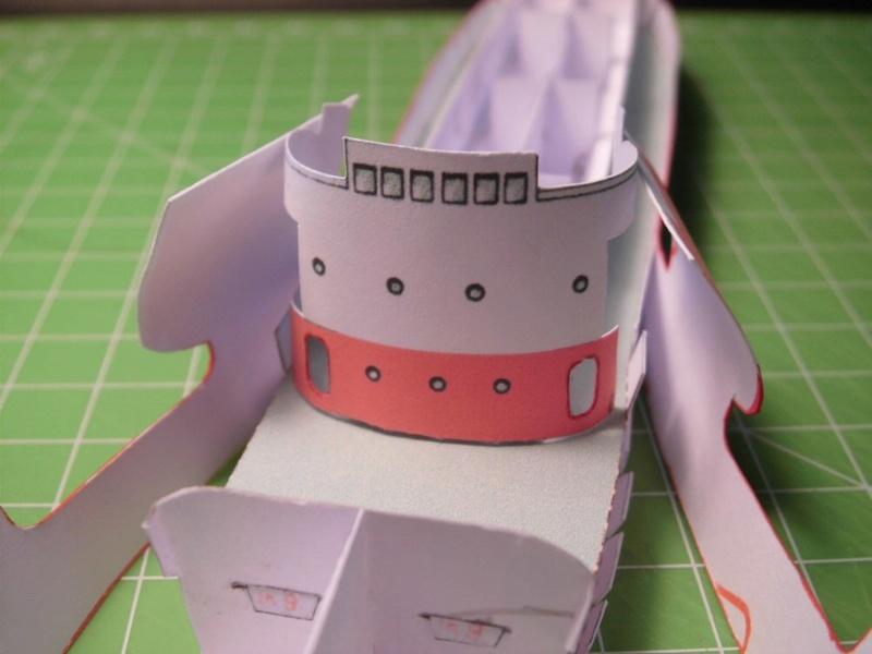 Feuerschiff Borkumriff  1:250  Cimg3252