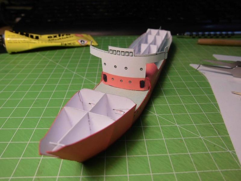 Feuerschiff Borkumriff  1:250  Cimg3253