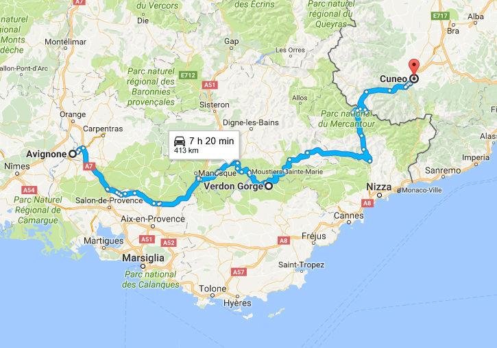 22-23-24-25 LUGLIO 2017  tour del Verdon, Luberon, Mont Ventoux, Ardeche Camargue Ritorn10
