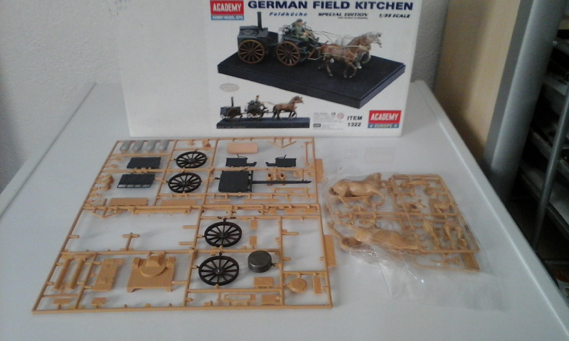 cuisine allemande : GERMAN FIELD KITCHEN  1/35 20170102