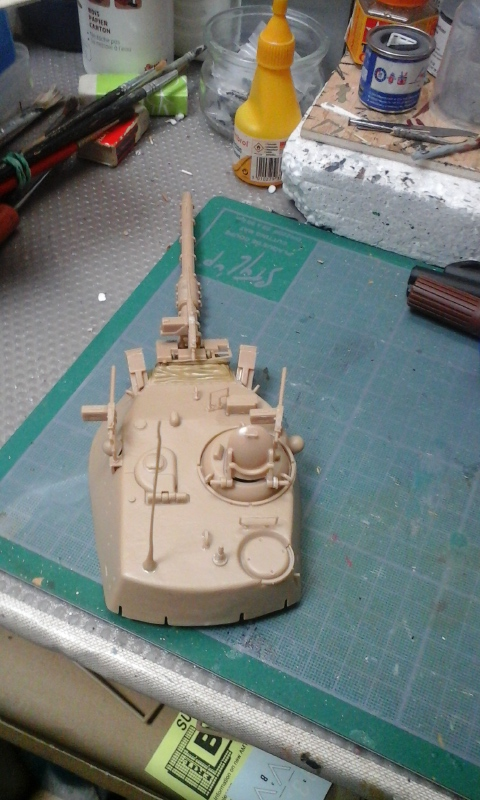 contruction nouvelle  char AM60  A1 Blazer au 1/35 20170351