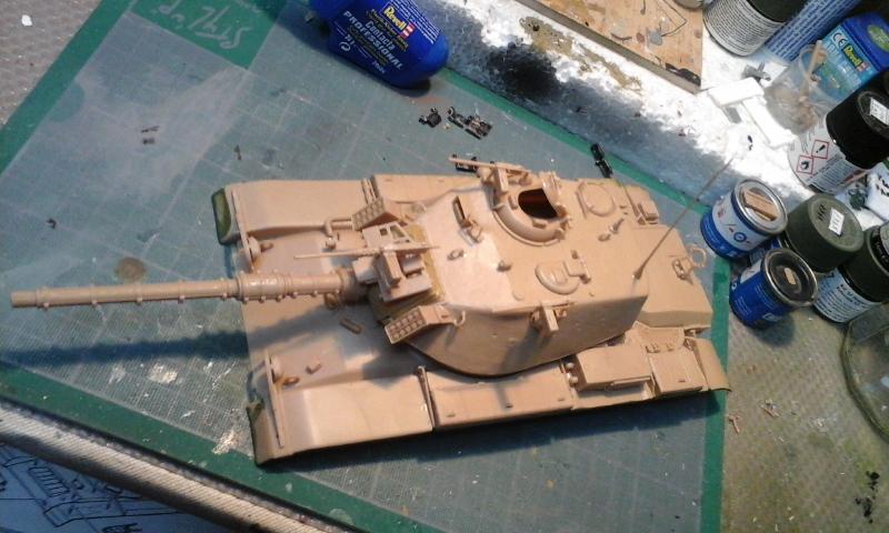 contruction nouvelle  char AM60  A1 Blazer au 1/35 - Page 2 4713