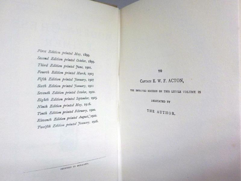 """The Modern Chess Primer"" Rev. Cunningham 12Th Edition 1928 Hd/bk The_mo15"