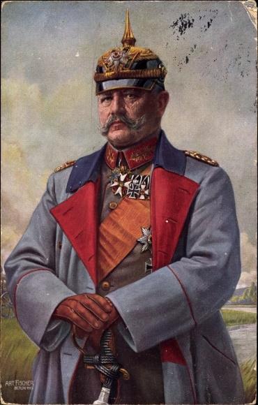 Paul von Hindenburg, 1/10, Life Miniatures Life_m10