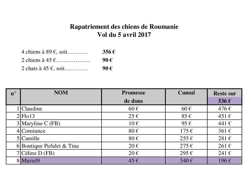 DE ROUMANIE, Arrivée par avion du 5 avril 2017 - Roissy CDG Vol_ta13