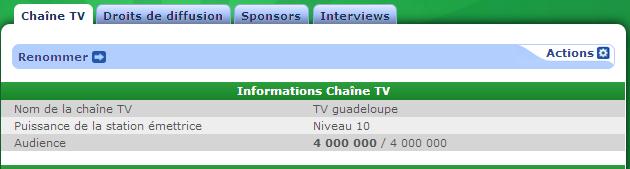 Chaine TV fc momo Equipe20