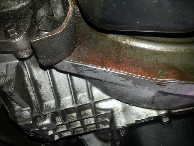 démontage du carter huile moteur 3.8 20130717