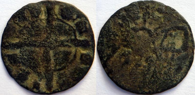 Dinero de Alfonso IX de León de 1168-1230 - Falsa de época ??? P1100332