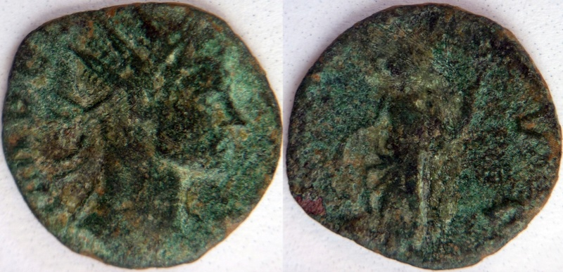 Antoniniano Imitativo de Claudio II. ANNONA AVG  P1100334