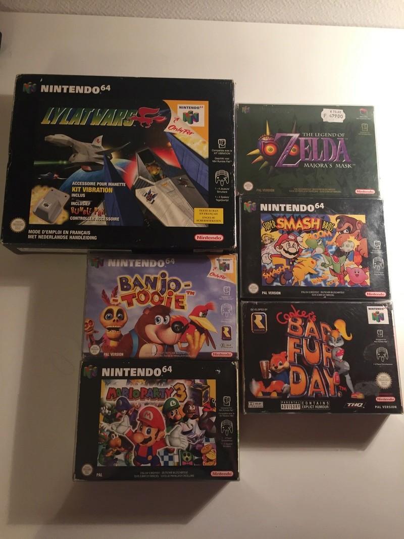 (Estim) jeux en vrac Nintendo 64, GBA, GameCube, 3DS, Wii U, PS2 Img_0715