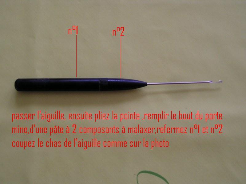 Comment fabriquer son aiguille à bouillette 51609311