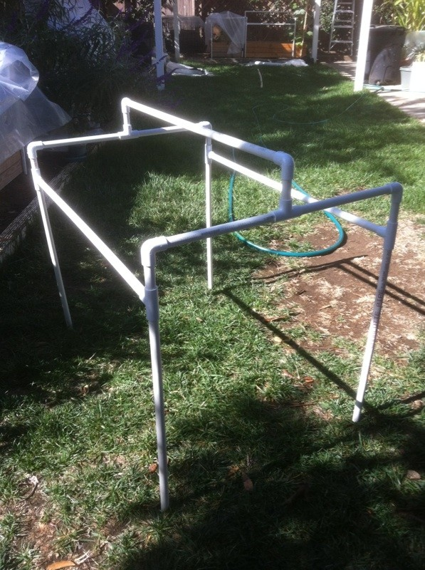 Central California: Just planted my winter garden starts yesterday Frames16