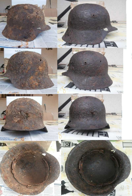 M42 restored helmet Antesy10
