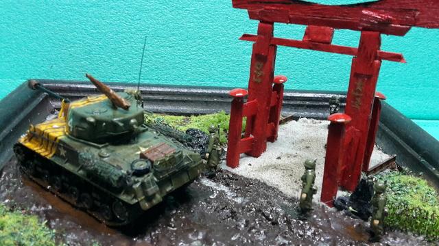 """Au pays du matin calme , il pleut""-- Sherman M4A3E8 --trumpeter - 1/72 - Page 2 11-3-210"