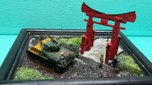 """Au pays du matin calme , il pleut""-- Sherman M4A3E8 --trumpeter - 1/72 - Page 2 11-3-211"