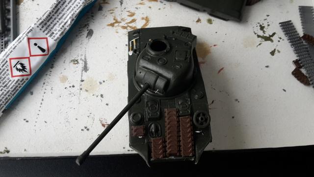 Sherman FIREFLY  (Armourfast - 1/72 ) 15-5-216