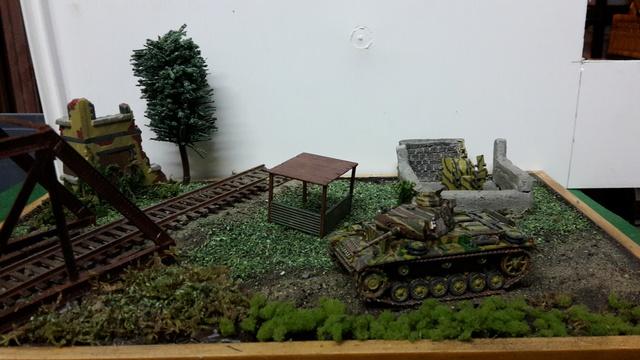 DERNIER PASSAGE - Allemagne 1945 - Panzer III Ausf. M (Revell) + Flakvierling 38 4 X 20mm (Italeri) - 1/72--FINI 19-04-11