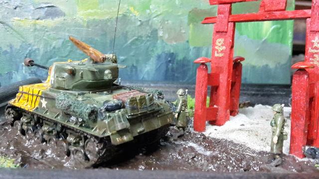 """""""Au pays du matin calme , il pleut""""-- Sherman M4A3E8 --trumpeter - 1/72 - Page 3 Finiti15"""