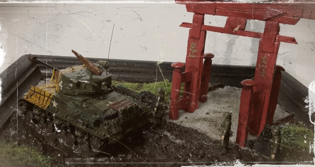 """""""Au pays du matin calme , il pleut""""-- Sherman M4A3E8 --trumpeter - 1/72 - Page 3 Finiti16"""