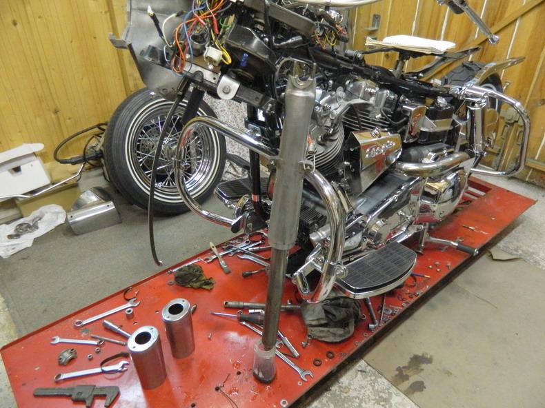 Restauration 1200 FLH électra glide 1976 212