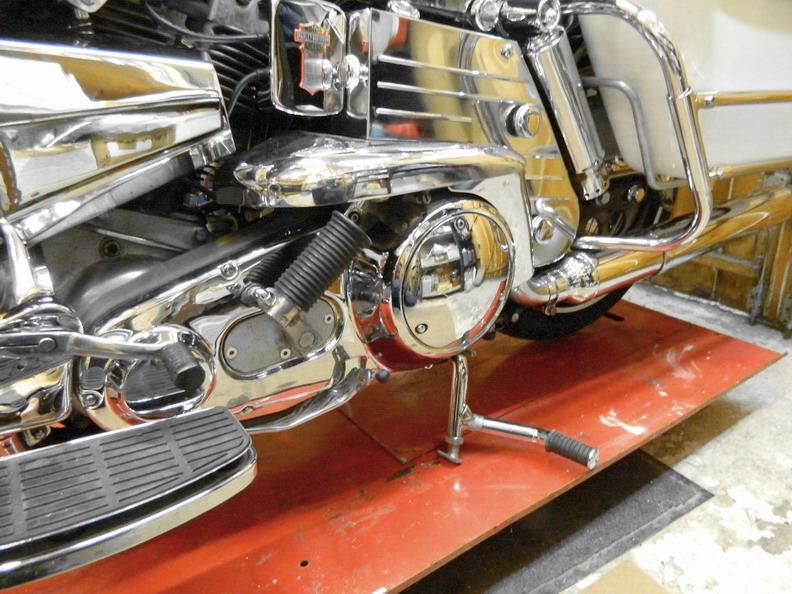 Restauration 1200 FLH électra glide 1976 311
