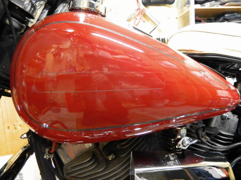 Restauration 1200 FLH électra glide 1976 411