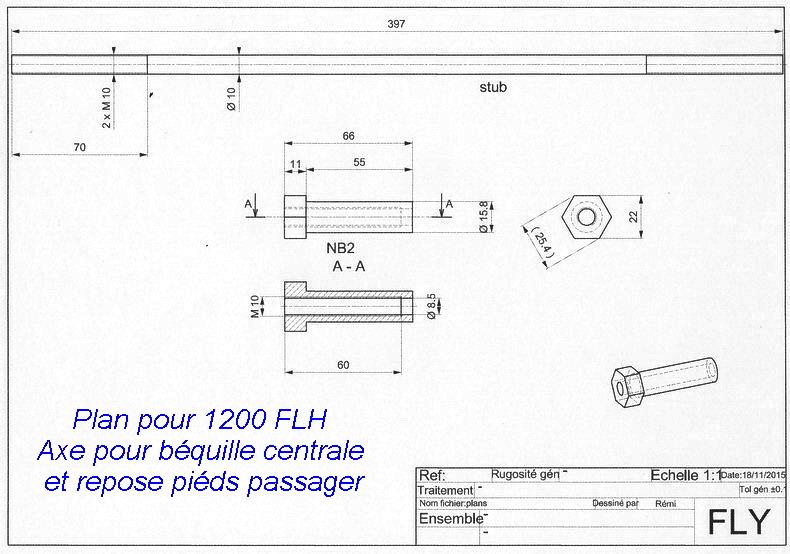 Restauration 1200 FLH électra glide 1976 Beq410