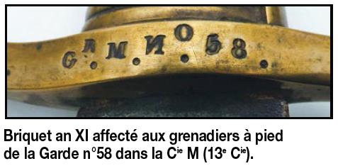 Sabre briquet de Fusilier de la Garde Impériale  An_ix_10