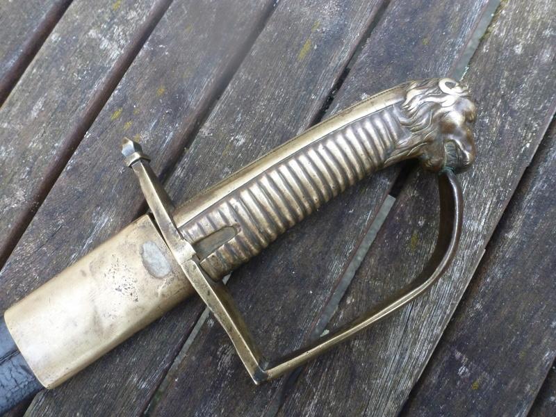 """Briquet du Grenadier blessé de Rivoli !  (Sabre """"de compagnie d'élite"""")  P1190719"""