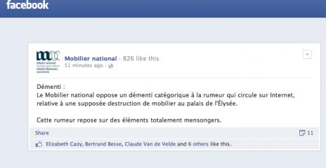 """""""La guerre des Rose"""" à l'Élysée : plusieurs milliers d'euros de dégâts à la charge de Hollande et Trierweiler Captur10"""