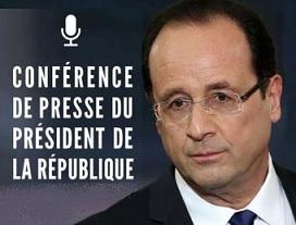 #ConfPR Prévision pour la Conférence de Presse de Hollande : enfumage record  Conf_d10