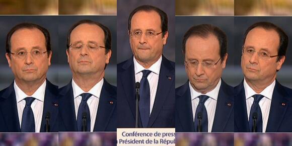 #ConfPR Prévision pour la Conférence de Presse de Hollande : enfumage record  Hollan17